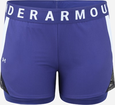 UNDER ARMOUR Sporthose 'Play Up' in blau / weiß, Produktansicht
