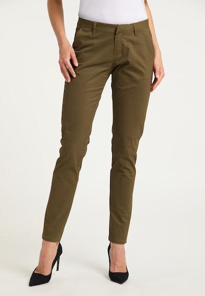 DreiMaster Klassik Hose in braun, Modelansicht