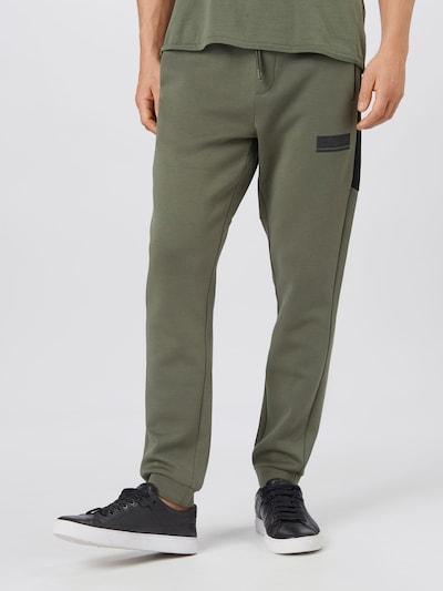 BOSS ATHLEISURE Bukser 'Halvo' i grøn, Modelvisning