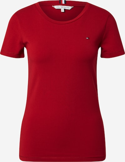 TOMMY HILFIGER Shirt in Navy / Dark red / White, Item view