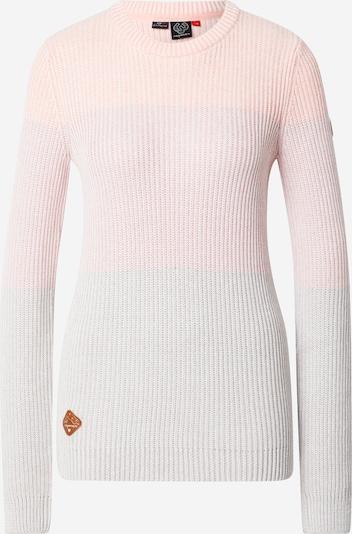 Ragwear Pullover in grau / pastellorange / rosa, Produktansicht