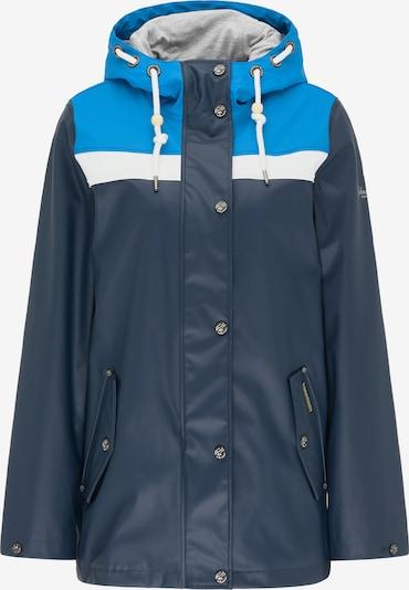 Schmuddelwedda Functionele jas in de kleur Marine / Hemelsblauw / Wit, Productweergave