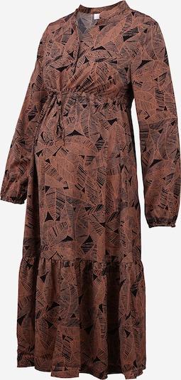 MAMALICIOUS Kleid in braun / schwarz, Produktansicht