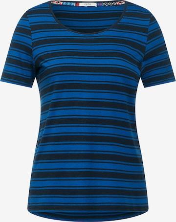 CECIL T-Shirt in Blau