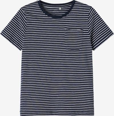 NAME IT T-Shirt 'VALENTIN' in dunkelblau / weiß, Produktansicht
