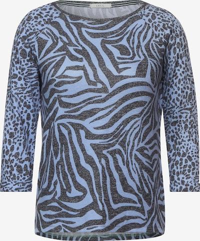 CECIL Shirt in ultramarinblau / himmelblau, Produktansicht