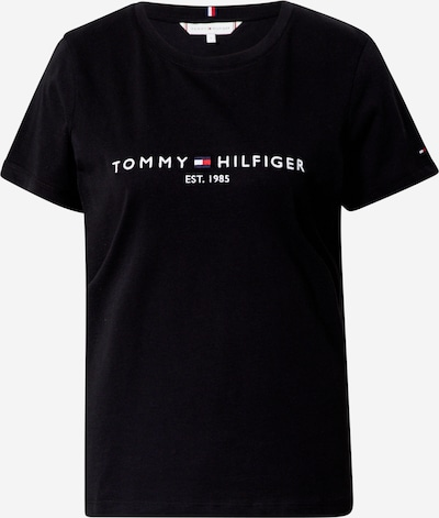 Maglietta TOMMY HILFIGER di colore nero / bianco, Visualizzazione prodotti