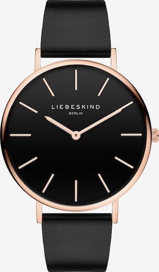 Liebeskind Berlin Uhr in rosegold / schwarz, Produktansicht