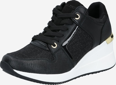 ALDO Sneakers laag 'Tiliaria' in de kleur Zwart / Wit, Productweergave