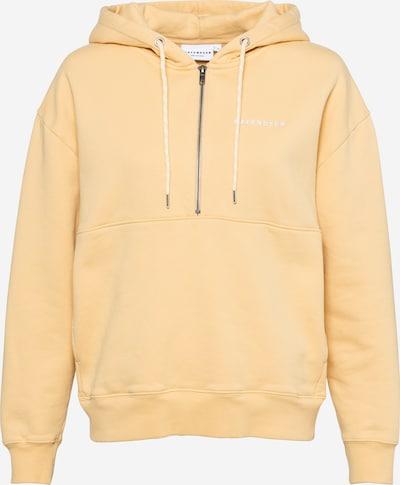 Hafendieb Sweatshirt in hellgelb / weiß, Produktansicht