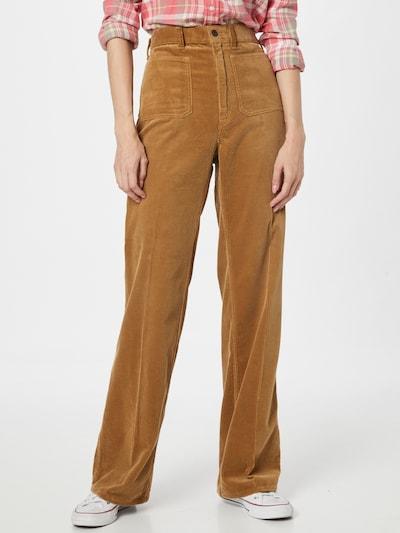 POLO RALPH LAUREN Spodnie w kant 'JEN' w kolorze brązowym, Podgląd na modelu(-ce)