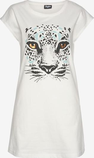 BUFFALO Nachthemd in hellblau / schwarz / weiß, Produktansicht