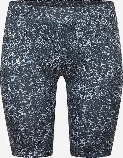 Urban Classics Curvy Pantalon en émeraude / noir / blanc, Vue avec produit