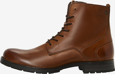 JACK & JONES Veterboots 'JFWORCA' in de kleur Cognac, Productweergave