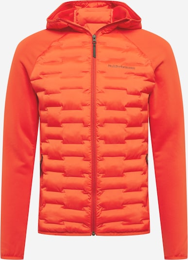 PEAK PERFORMANCE Toiminnallinen takki 'Argon' värissä tummanoranssi, Tuotenäkymä