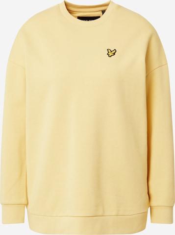 Lyle & Scott Μπλούζα φούτερ σε κίτρινο