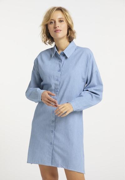 usha BLUE LABEL Kleid in hellblau / weiß, Modelansicht