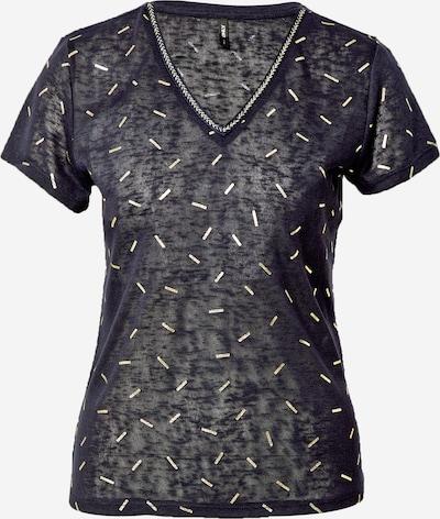 ONLY Shirt 'STEPHANIA' in de kleur Beige / Donkerblauw, Productweergave