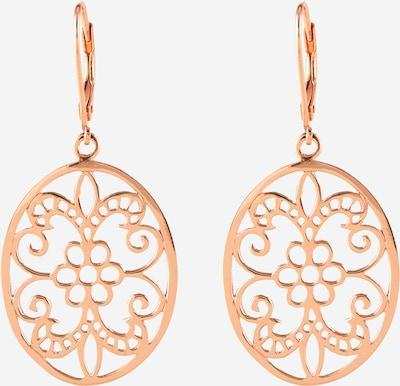 ELLI Σκουλαρίκια 'Ornament' σε ροζέ χρυσό, Άποψη προϊόντος