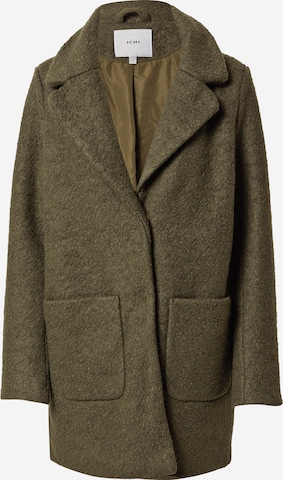 ICHI Between-seasons coat in Green
