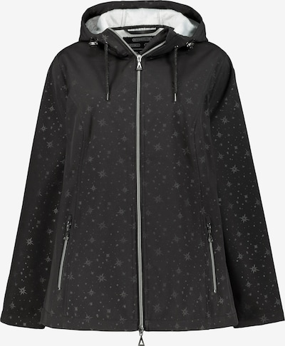 Ulla Popken Softshell-Jacke in schwarz, Produktansicht
