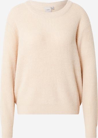 ICHI Sweter w kolorze szary