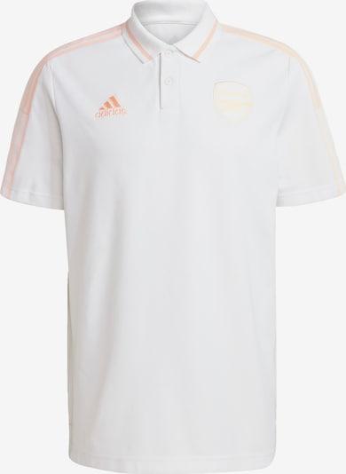 ADIDAS PERFORMANCE Poloshirt 'FC Arsenal' in pfirsich / weiß, Produktansicht