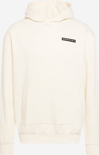 Bluză de molton 'AFTERMATH' Mennace pe alb natural, Vizualizare produs