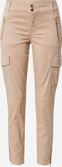 MOS MOSH Pantalon cargo 'Gilles' en camel, Vue avec produit