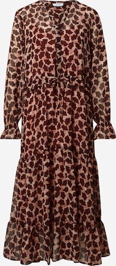Love & Divine Kleid 'Love528' in pfirsich / rot / burgunder, Produktansicht