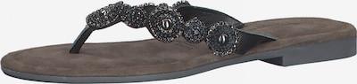 TAMARIS T-bar sandals in Black, Item view
