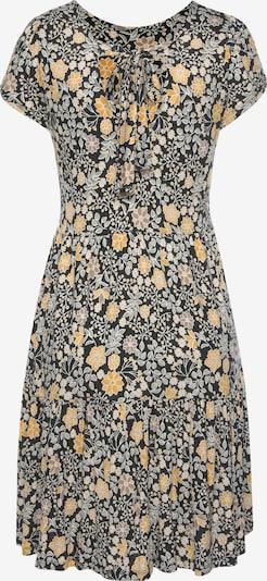 Suknelė iš LASCANA, spalva – geltona / pilka / juoda, Prekių apžvalga
