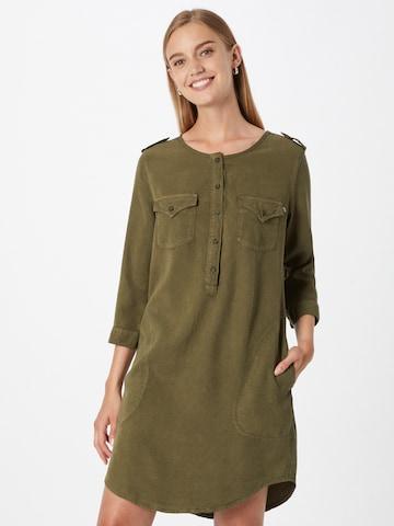 Rochie tip bluză 'ELORA' de la LTB pe verde