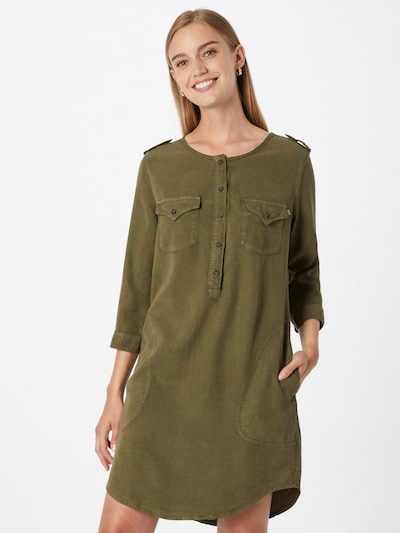 LTB Рокля тип риза 'ELORA' в маслина, Преглед на модела