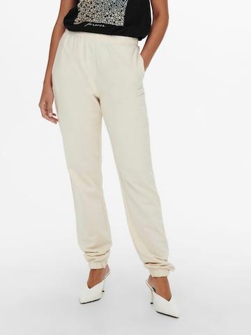 Pantalon 'Dreamer' ONLY en blanc
