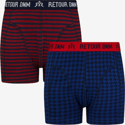 Retour Jeans Nohavičky 'Gillian' - modrá / tmavomodrá / červená / čierna / biela, Produkt