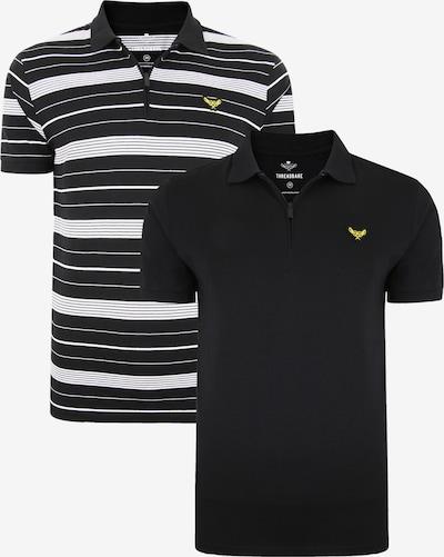 Threadbare Shirt 'Aston' in gelb / schwarz / weiß, Produktansicht