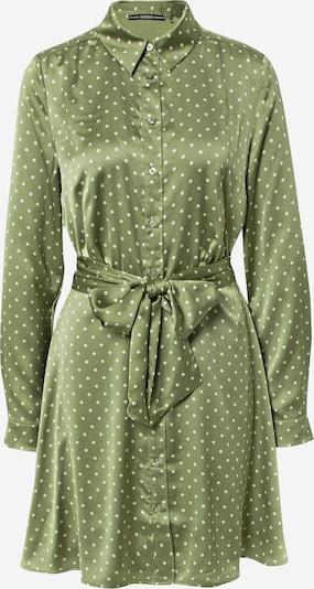 GUESS Kleid in apfel / weiß, Produktansicht