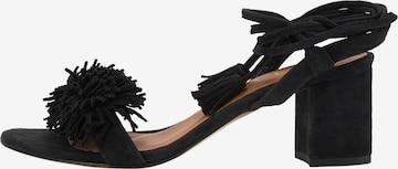 IZIA Sandale in Schwarz
