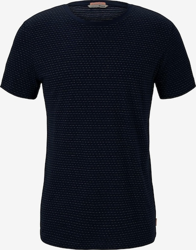 TOM TAILOR DENIM Shirt in de kleur Zwart / Wit, Productweergave