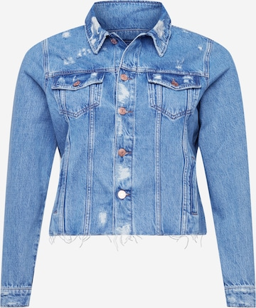 Tommy Jeans Curve Övergångsjacka i blå