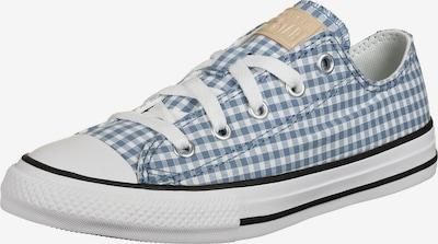 CONVERSE Sneaker in rauchblau / taubenblau / weiß: Frontalansicht