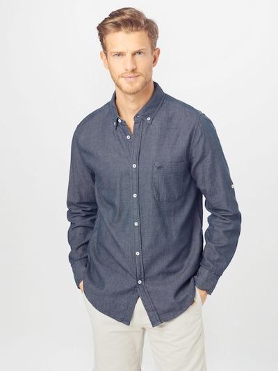 MUSTANG Chemise en bleu / blanc: Vue de face