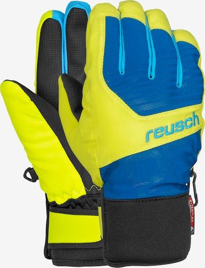 REUSCH Fingerhandschuhe 'Torbenius R-TEX® XT Junior' in blau / gelb, Produktansicht