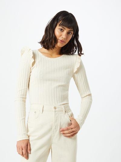PIECES Skjorte i hvid, Modelvisning