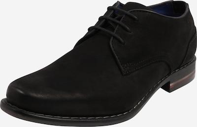 bugatti Chaussure à lacets 'Benigno' en noir, Vue avec produit