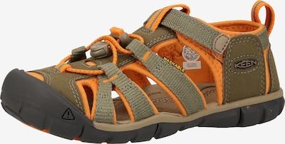 KEEN Sandale in khaki / orange, Produktansicht