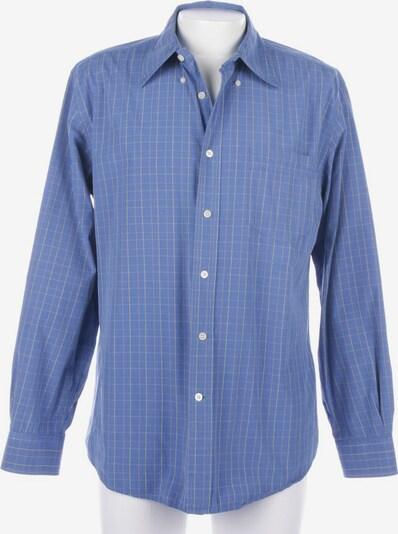 TOMMY HILFIGER Freizeithemd / Shirt / Polohemd langarm in L in blau, Produktansicht