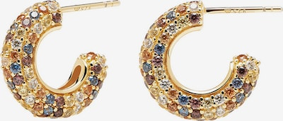 P D PAOLA Earrings 'Saphir' in Gold / Mixed colors, Item view