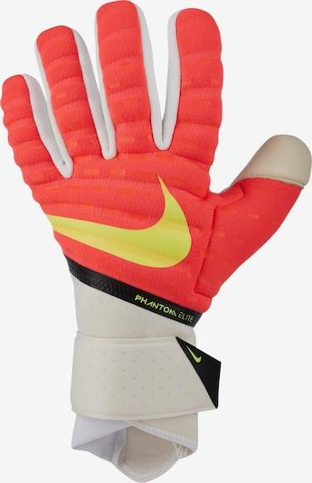 NIKE Handschuhe in gelb / rot / weiß, Produktansicht